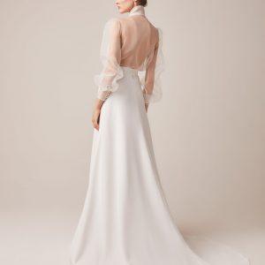 top and skirt wedding dress