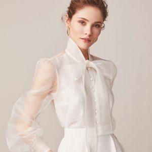 silk bridal separates
