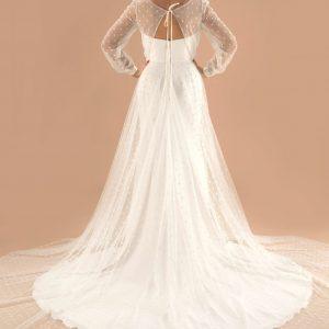 overdress wedding dress