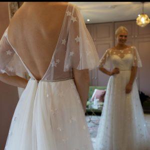 ethereal wedding dress