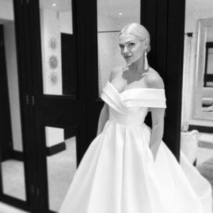 well structured wedding dress