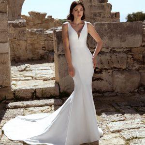 Sicily Wedding Dress with Train