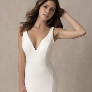 simple fitting wedding dress