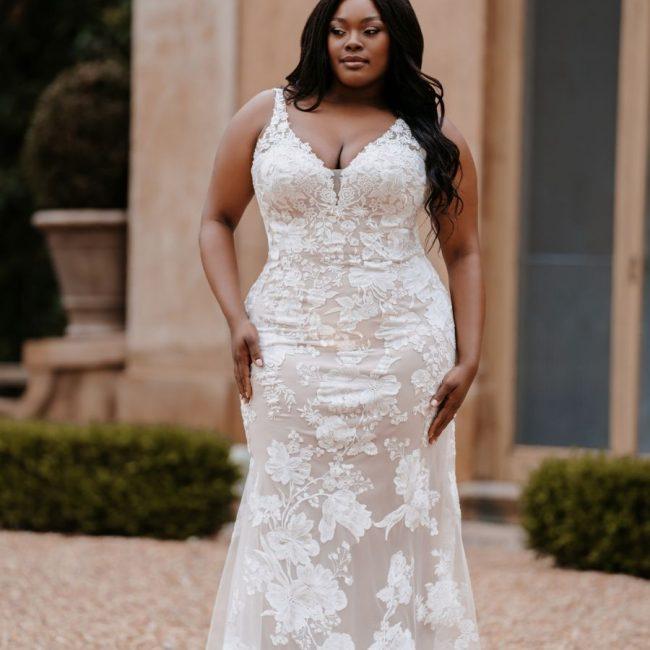 Allure 9865 Wedding Dress Auckland - Natalie Rose Bridal