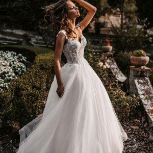 basque waist princess dress