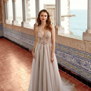 Sonali A Line Wedding Dress